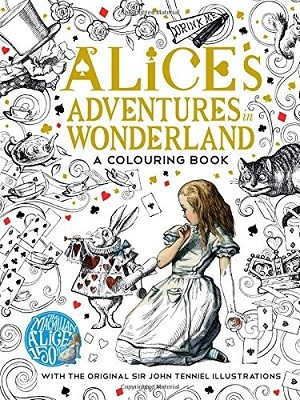 The Macmillan Alice Colouring Book - Macmillan Classic Colouring Books (Paperback)