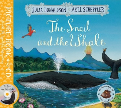 The Snail and the Whale: Book and CD Pack (Book)