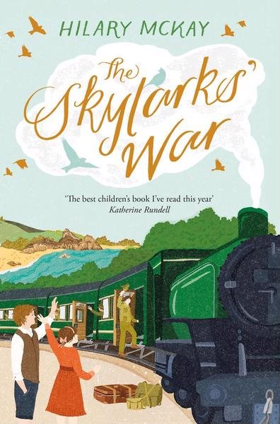 Cover of the book, The Skylarks' War.
