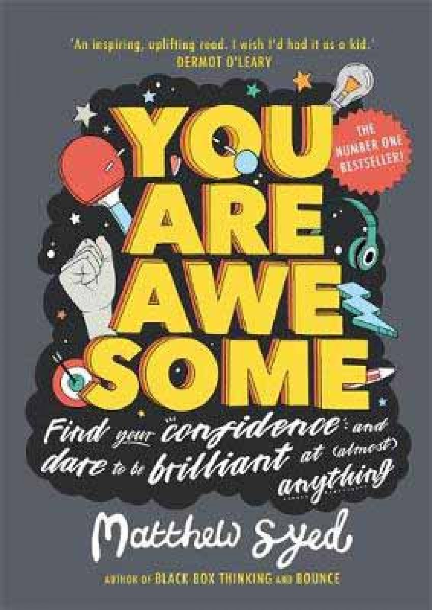you are awesome by matthew syed waterstones