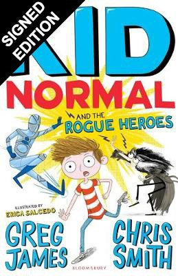 Kid Normal and the Rogue Heroes: Signed Edition - Kid Normal (Paperback)