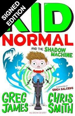Cover of the book, Kid Normal and the Shadow Machine.