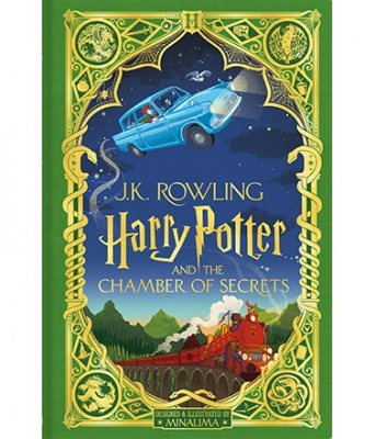 Harry Potter and the Chamber of Secrets: MinaLima Edition (Hardback)