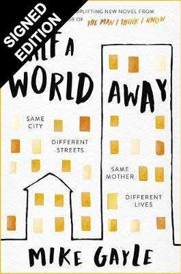 Cover of the book, Half a World Away.