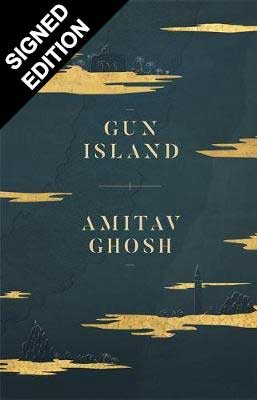 Cover of the book, Gun Island.