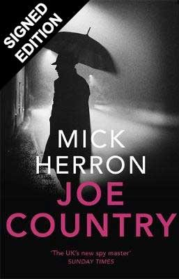 Cover of the book, Joe Country (Slough House #6).
