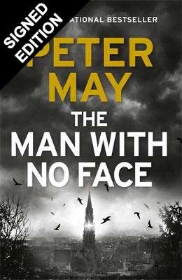 Cover of the book, The Man With No Face.