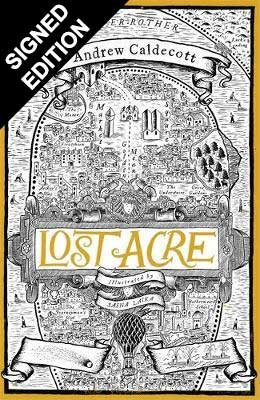 Cover of the book, Lost Acre (Rotherweird, #3).