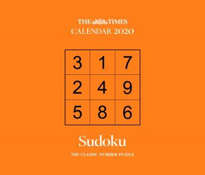 2020 The Times Sudoku Boxed Calendar (Calendar)