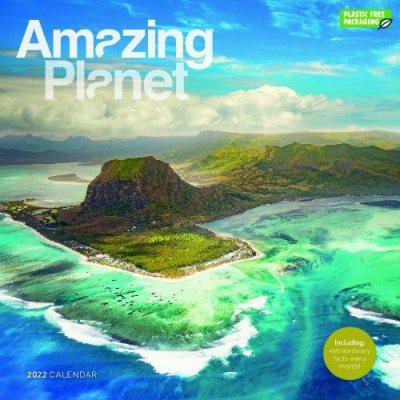 2022 Amazing Planet Wall Calendar (Calendar)