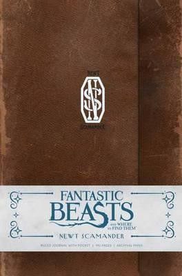 Fantastic Beasts and Where to Find Them: Newt Scamander Hardcover Ruled Journal (Hardback)