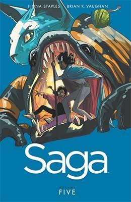 Saga Volume 5 (Paperback)