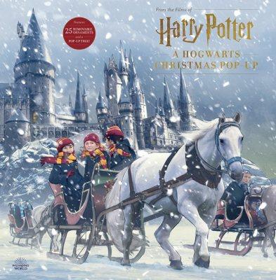 Harry Potter: A Hogwarts Christmas Pop-Up (Hardback)