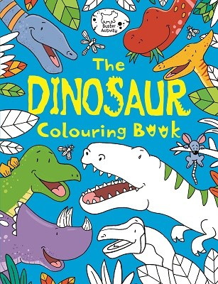 The Dinosaur Colouring Book (Paperback)