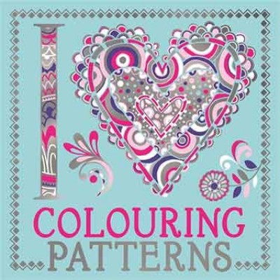 I Heart Colouring Patterns - I Heart Colouring Books (Paperback)