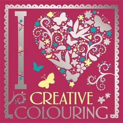 I Heart Creative Colouring - I Heart Colouring Books (Paperback)