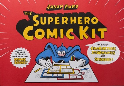 The Superhero Comic Kit (Paperback)