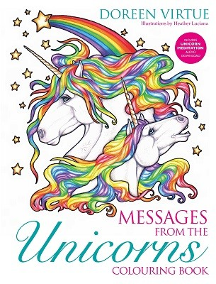 Messages from the Unicorns Colouring Book (Paperback)