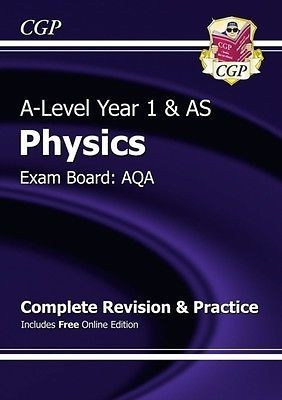 A-Level Physics: AQA Year 1 & AS Complete Revision & Practice with Online Edition (Paperback)