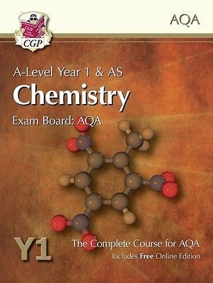 A-Level Chemistry for AQA: Year 1 & AS Student Book with Online Edition (Paperback)