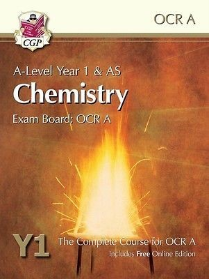 A-Level Chemistry for OCR A: Year 1 & AS Student Book with Online Edition (Paperback)