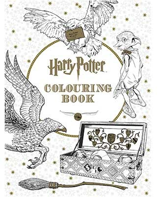 harry potter colouring book harry potter paperback