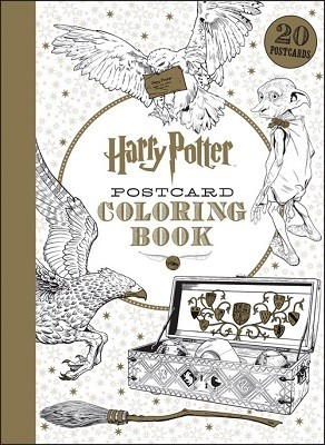 Harry Potter Postcard Colouring Book - Harry Potter (Paperback)