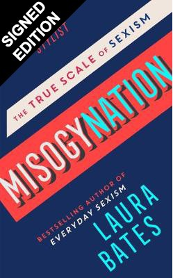 Cover of the book, Misogynation: The True Scale of Sexism.