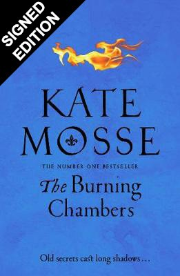 Cover of the book, The Burning Chambers.