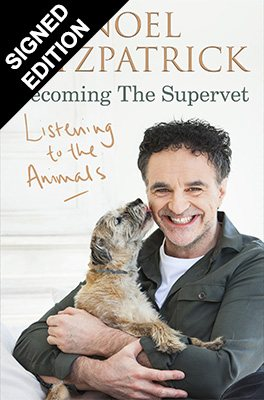Listening to the Animals: Becoming The Supervet: Signed Edition (Hardback)