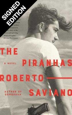Cover of the book, The Piranhas.
