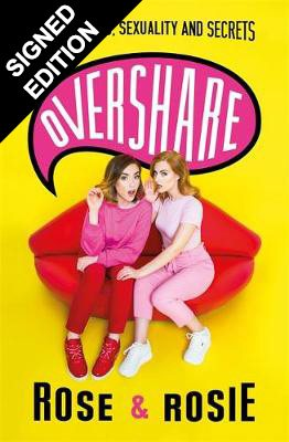 Cover of the book, Overshare: Love, Laughs, Sexuality and Secrets.