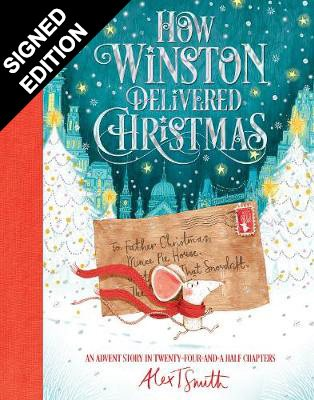 Cover of the book, How Winston Delivered Christmas: An Advent Story in Twenty-Four-and-a-Half Chapters.