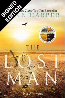 Cover of the book, The Lost Man.