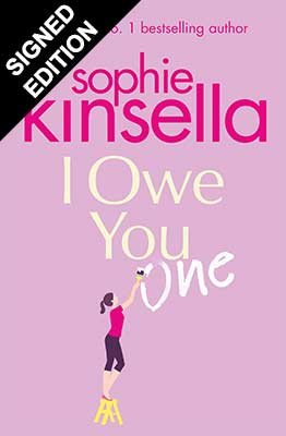 Cover of the book, I Owe You One.