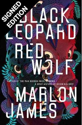 Cover of the book, Black Leopard, Red Wolf (The Dark Star Trilogy, #1).