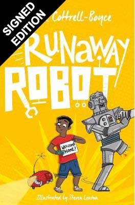 Cover of the book, Runaway Robot.