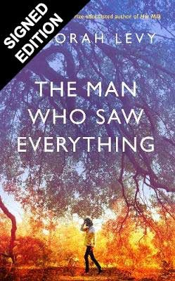Cover of the book, The Man Who Saw Everything.