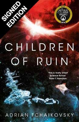 Cover of the book, Children of Ruin (Children of Time, #2).