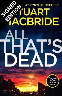 All That's Dead: Signed Edition - Logan McRae 12 (Hardback)