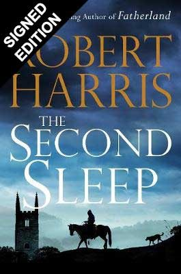 Cover of the book, The Second Sleep.