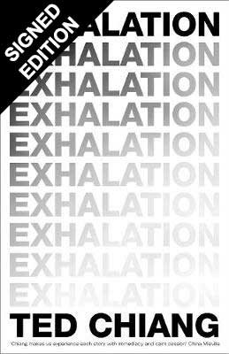 Cover of the book, Exhalation.