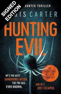 Cover of the book, Hunting Evil (Robert Hunter, #10).