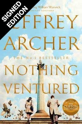 Nothing Ventured: Signed Edition (Hardback)