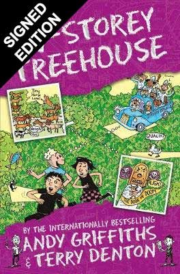The 117-Storey Treehouse: Signed Edition - The Treehouse Books (Paperback)
