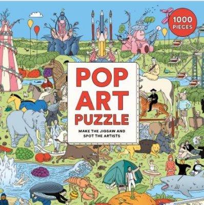 Pop Art Puzzle: Make the Jigsaw and Spot the Artists (Jigsaw)