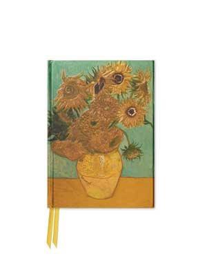 Van Gogh: Sunflowers (Foiled Pocket Journal) - Flame Tree Pocket Notebooks 1