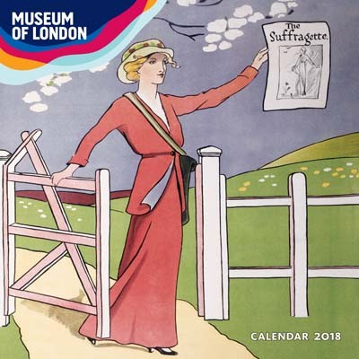 Museum of london votes for women wall calendar 2018 art calendar calendar
