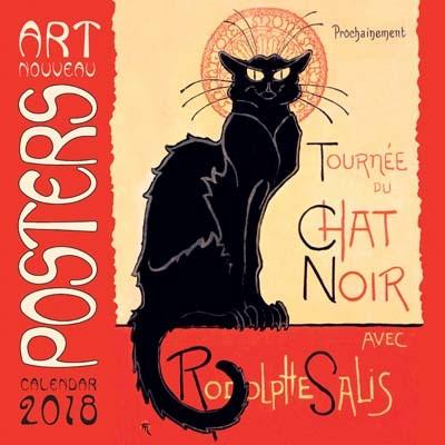 Art nouveau posters wall calendar 2018 art calendar calendar