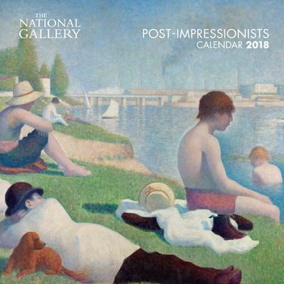 National gallery post impressionists mini wall calendar 2018 art calendar